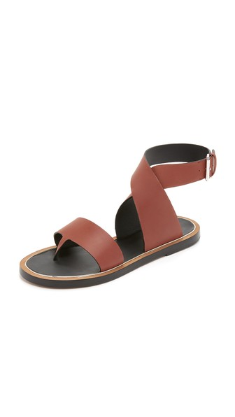 Vince 'mailin' Ankle Strap Sandal (women) In Whiskey