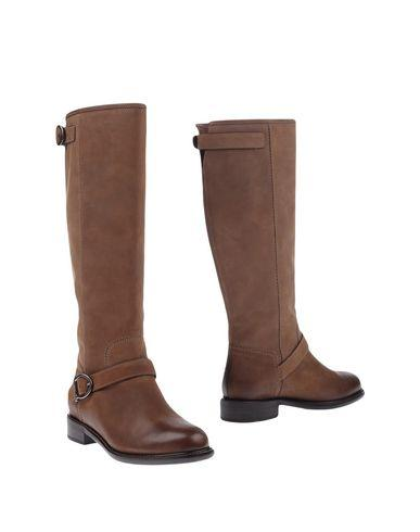 Salvatore Ferragamo Boots In Khaki