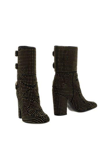 Laurence Dacade Merli Studded Suede Boots In Black