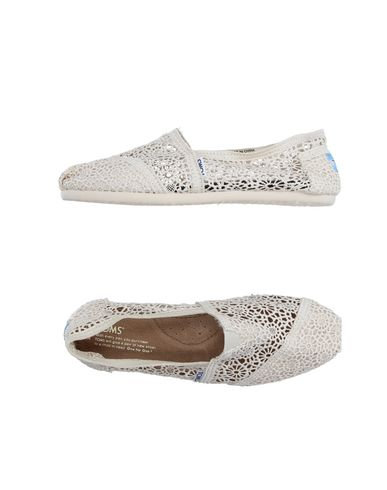 Toms Ballet Flats In Ivory