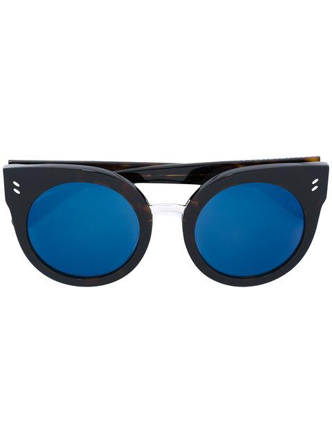 Stella Mccartney Eyewear Cat Eye Sunglasses - Brown