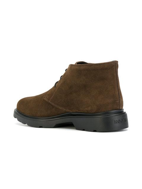 4f5bcf73cf Hogan Tobacco New Route H304 Suede Chukka Boot In Brown | ModeSens