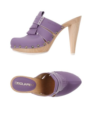Dsquared2 Mules In Purple