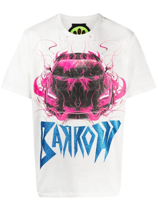 Barrow X Sfera Ebbasta Cotton T-shirt In White