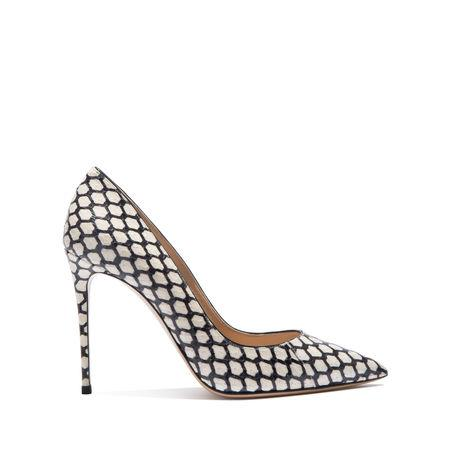 Casadei Perfect Pump In Black And White