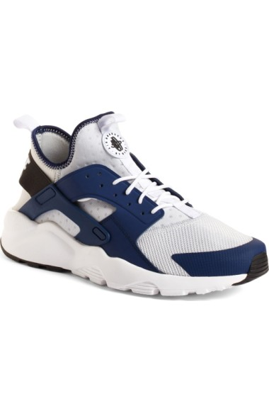 4b831510a713 Nike Men s Air Huarache Run Ultra Running Sneakers From Finish Line In Port  Wine Bordeaux