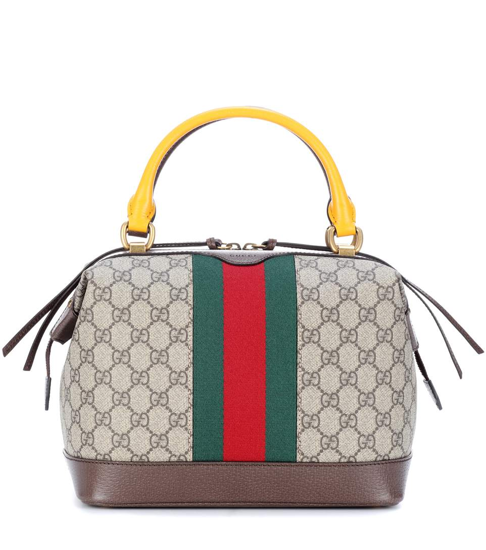 ac1ee65dce45 Gucci Gg Supreme Canvas And Leather Bag In Leige | ModeSens