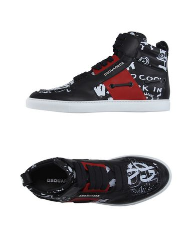 Dsquared2 High-tops In Black