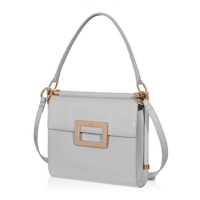 Roger Vivier Miss Viv Small Shoulder Bag In Patent Leather