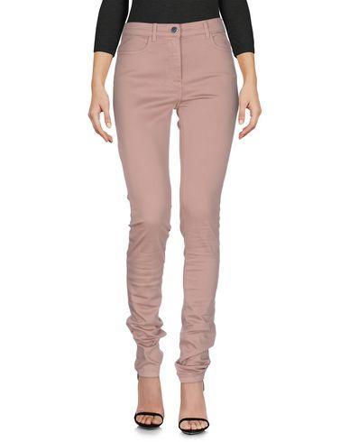 T By Alexander Wang Denim Pants In Pastel Pink