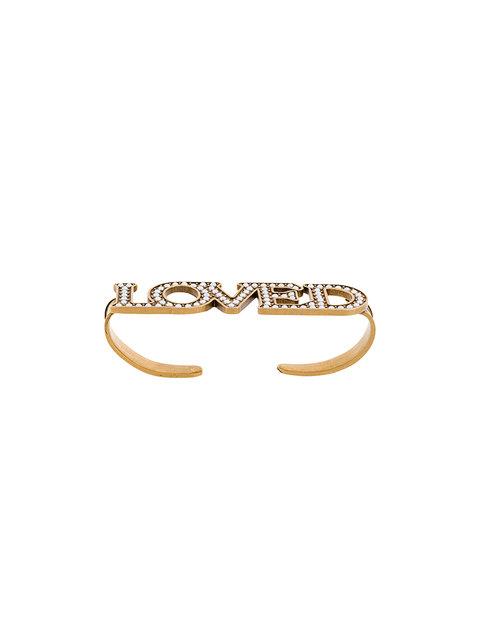 73b3ab7a3 Gucci Gold Pearl 'Loved' Palm Cuff | ModeSens