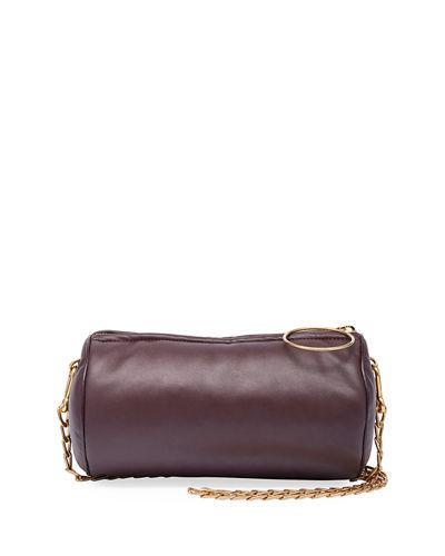 2bb2da7f485a Stella Mccartney Mini Cylinder Chain Shoulder Bag In Wine
