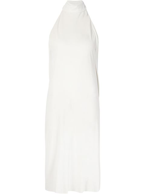 Maison Margiela Draped Halter Neck Dress