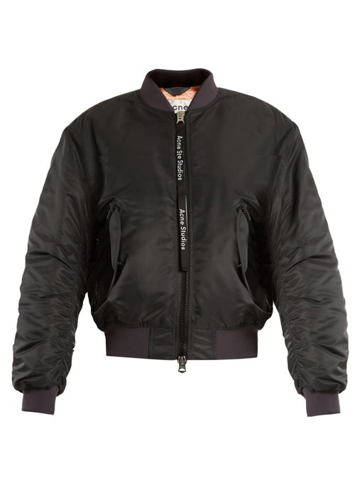 f8bb5f01a Classic Bomber Jacket Navy in Charcoal-Navy