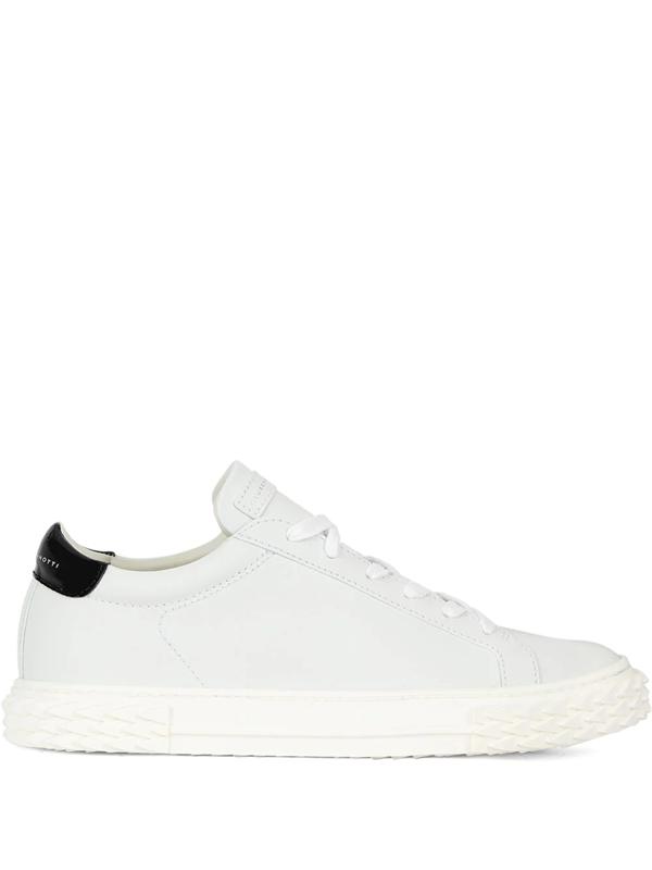 Giuseppe Zanotti Blabber Sneakers In White Leather