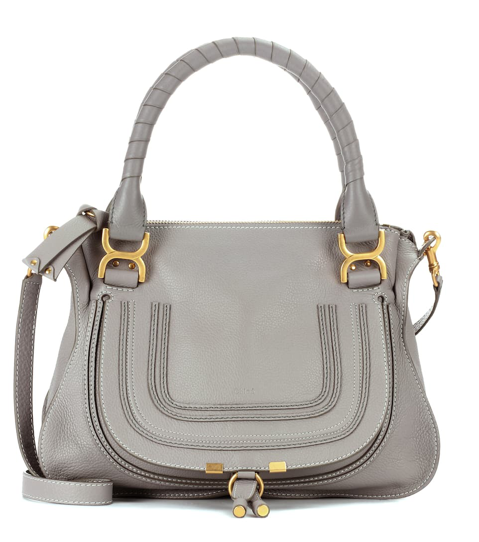 71913ba0ea3 ChloÉ Marcie Medium Satchel - Cashmere Grey