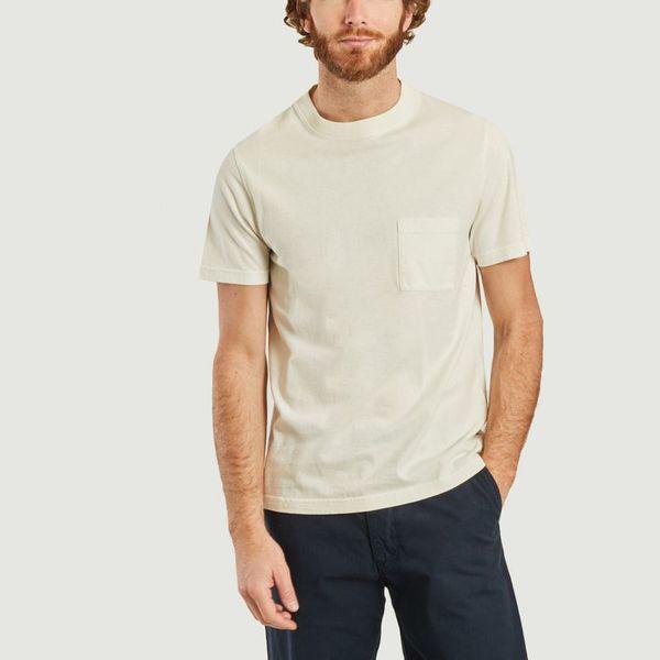 Albam Ss Workwear T-shirt Ecru In White
