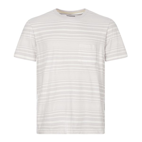 Albam Archive Stripe T-shirt White / Lilac In Blue