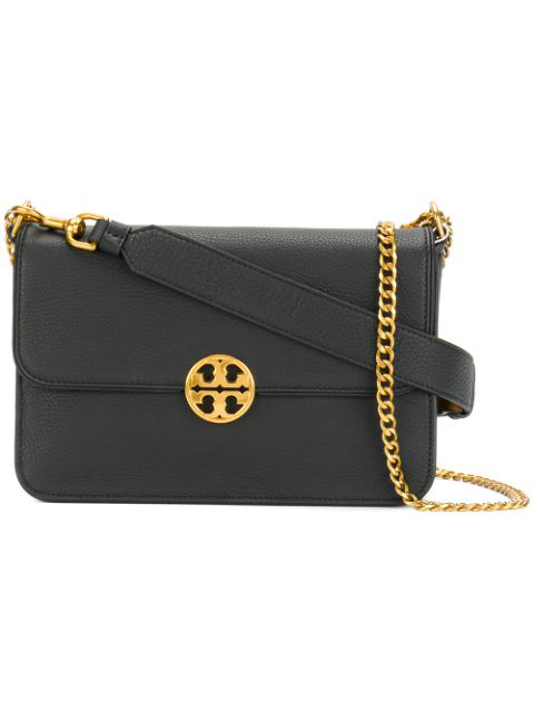 b84e872e0 Tory Burch Mini Chelsea Leather Convertible Crossbody Bag - Black. SIZE &  FIT INFORMATION