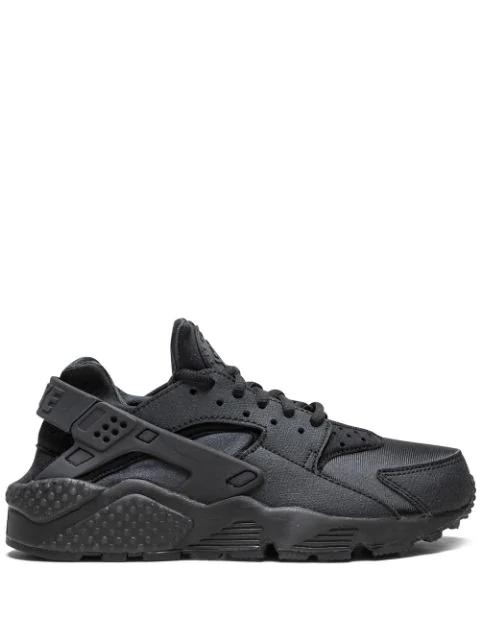 Wmns Air Huarache Run Sneakers In Black