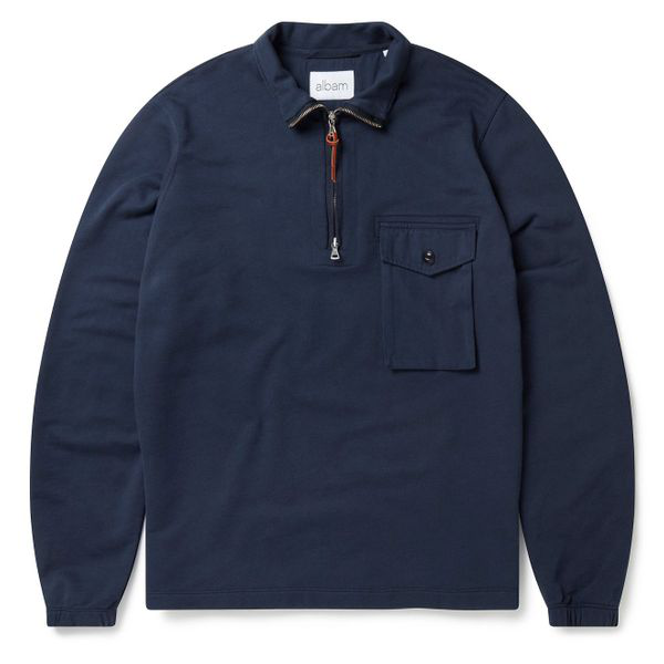 Albam Tactical Sweat Navy In Blue