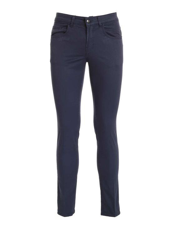 Fay Men's Ntm8242180tguru810 Blue Cotton Pants