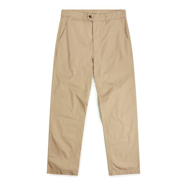 Albam Taper Chino Sand In Brown