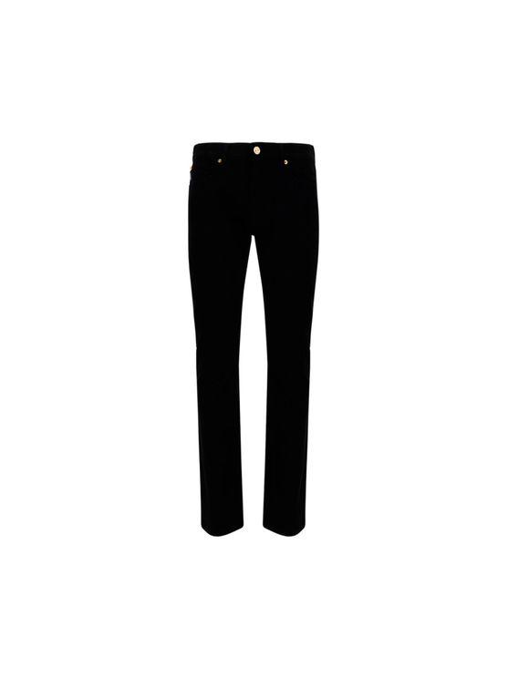 Versace Men's A818321f011131d040 Black Other Materials Jeans