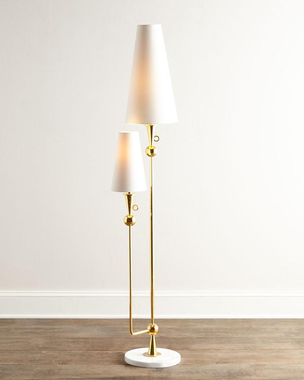 Jonathan Adler Caracas Floor Lamp, Jonathan Adler Table Lamp