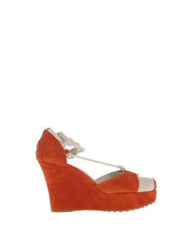 Tod's Sandals In Rust