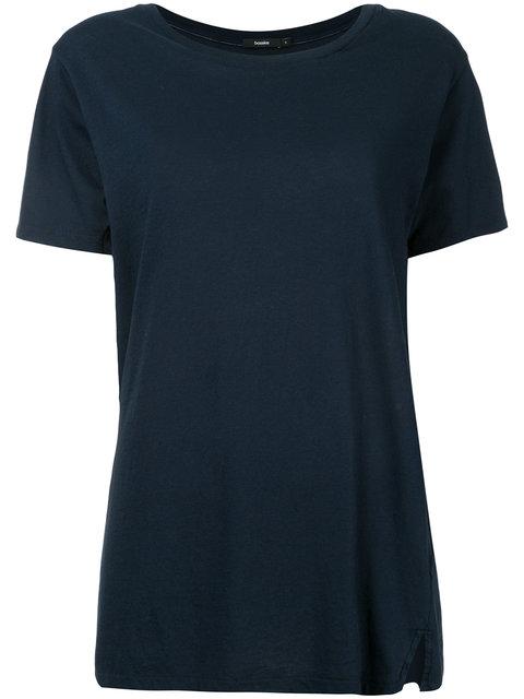 Bassike Slim Contrast Stitching T-shirt