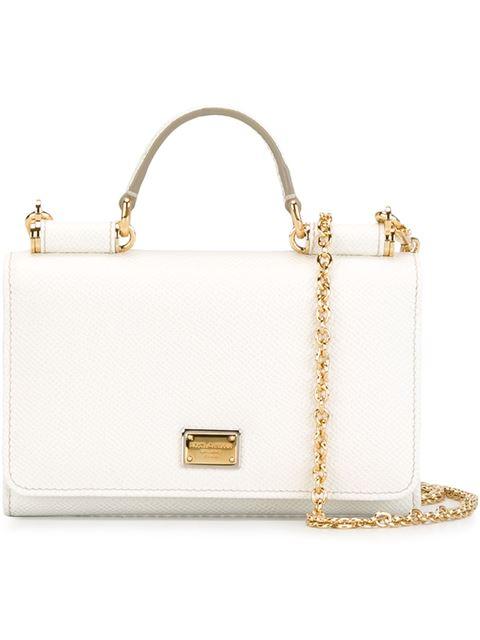 Dolce & Gabbana Mini Von Wallet Crossbody Bag In 8001