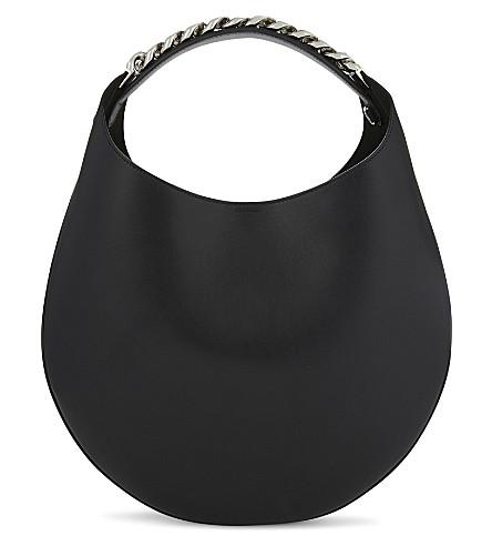 b22471e37b Givenchy Infinity Small Leather Chain Hobo Bag In Black | ModeSens