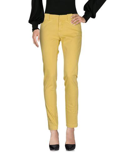 Dondup Casual Pants In Yellow
