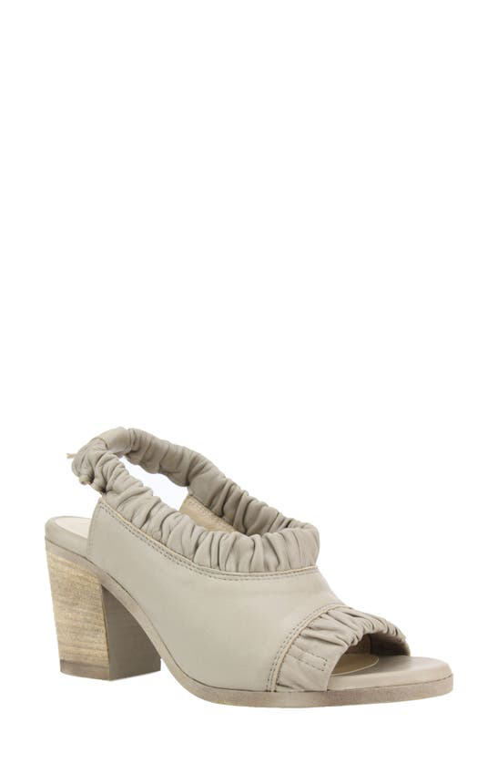 Unity In Diversity Sofia Slingback Sandal In Nude Suede