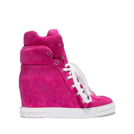 Casadei Sneakers In Raspberry Sorbet