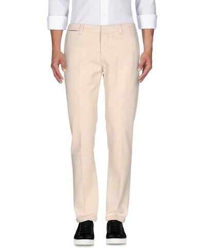 Dondup Denim Pants In Ivory