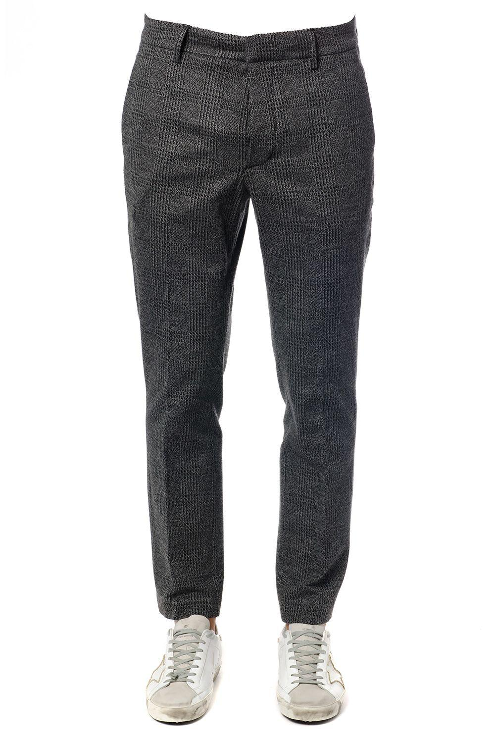 Dondup Palmer Trousers In Gray