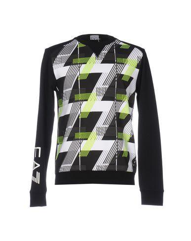 Ea7 Sweatshirts In Black