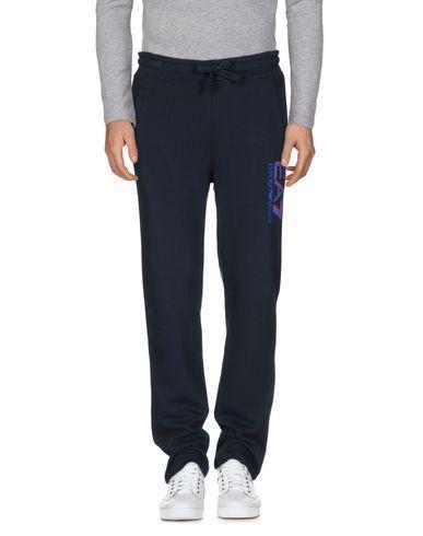 Ea7 Casual Pants In Dark Blue