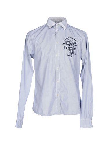Scotch & Soda Shirts In Dark Blue