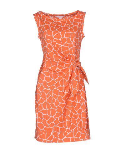 Diane Von Furstenberg Short Dress In Coral