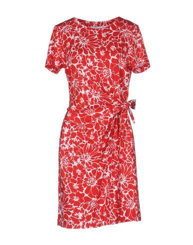 Diane Von Furstenberg Short Dresses In Red