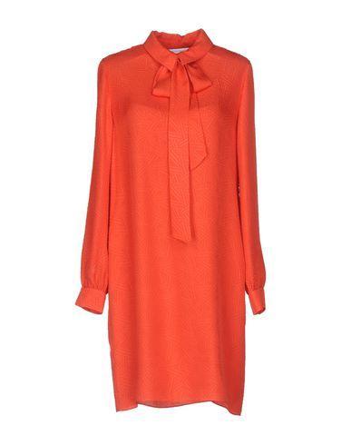 Diane Von Furstenberg Shirt Dress In Orange