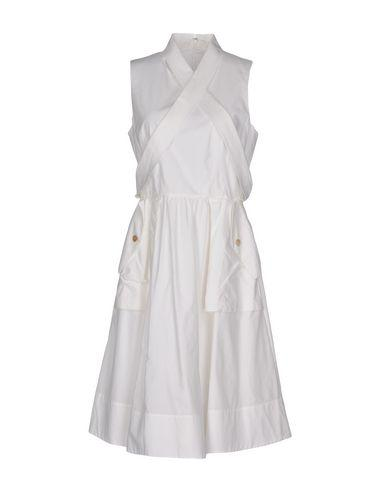 Marc By Marc Jacobs Knee-length Dresses In White