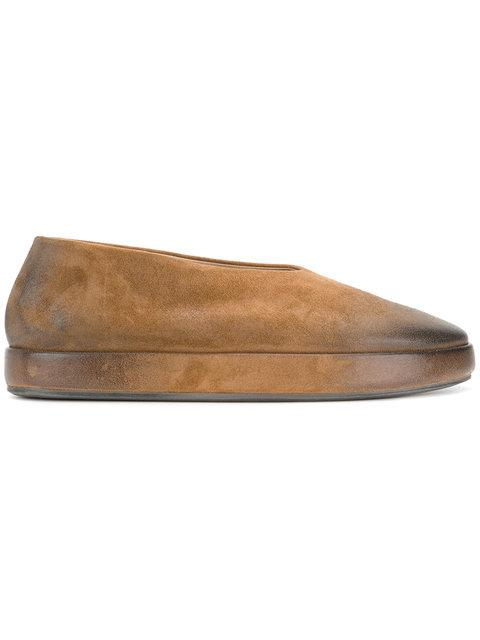 MarsÈll Ballerina Shoes - Brown