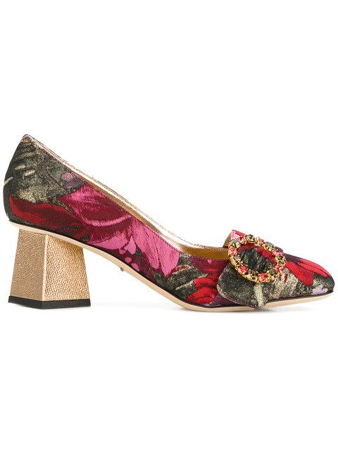 Dolce & Gabbana Jackie Pumps In Multicolour