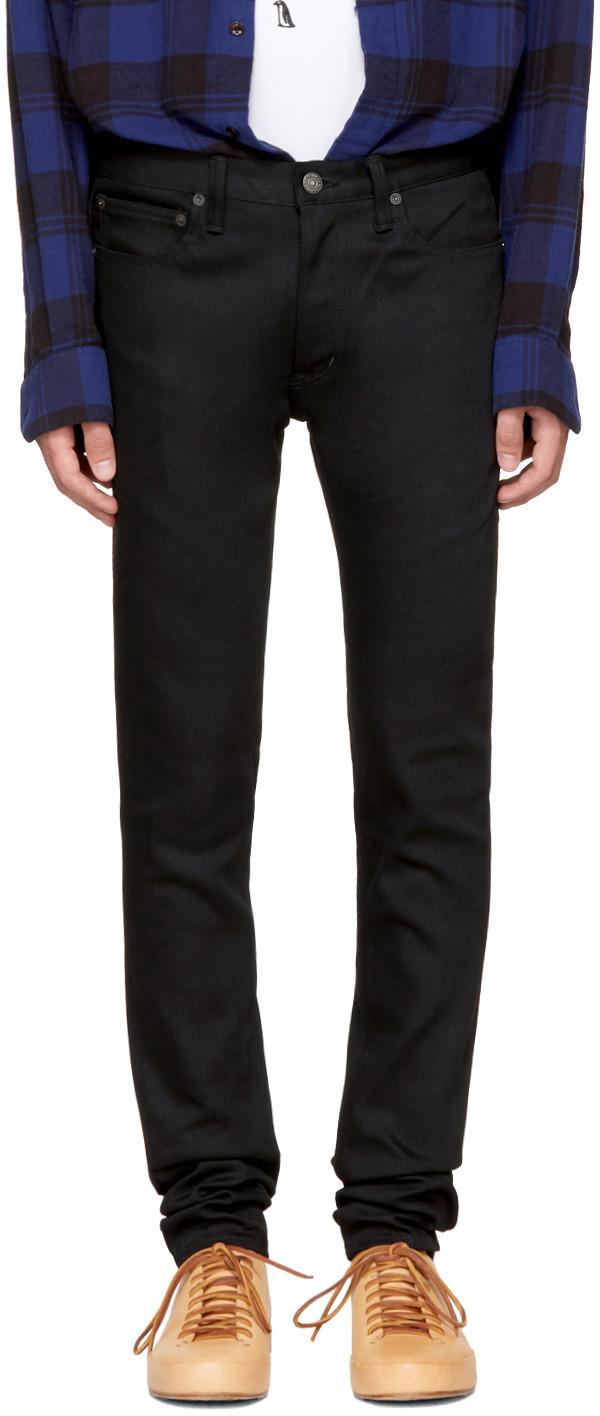 Wacko Maria Black Skinny Stretch Jeans