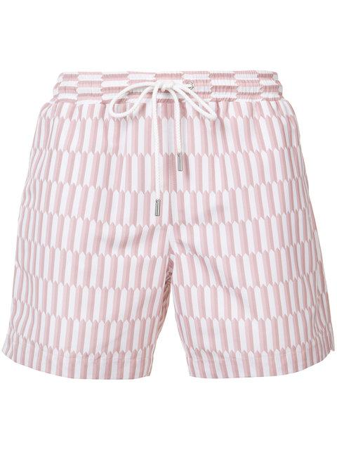 Katama Striped Shorts