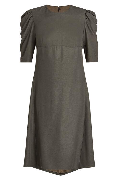 Nina Ricci Dress With Silk In Grey